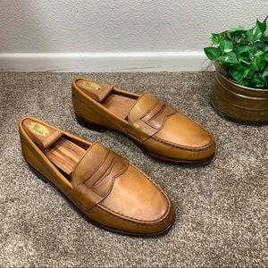 Allen Edmonds Cavanaugh Leather Penny Loafer Shoe
